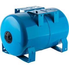 Расширительный бак, гидроаккумулятор 20 л. горизонтальный (цвет синий) Stout