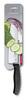 Нож Victorinox сантоку, лезвие 17 см рифленое, черный, в картонном блистере