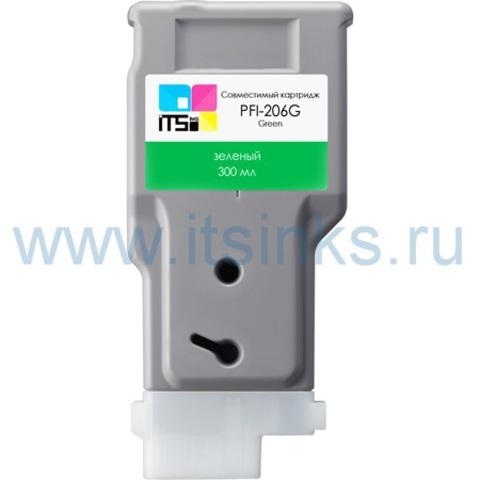 Картридж PFI-206G 300 мл