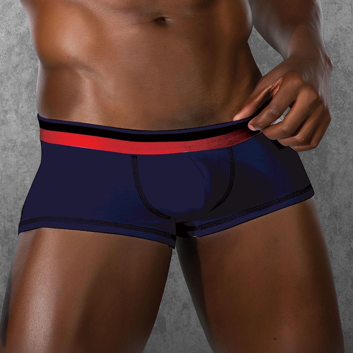 Мужское белье: Трусы-боксеры с низкой посадкой