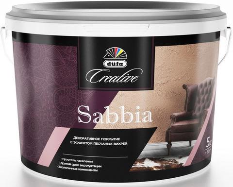 Dufa Creative Sabbia/Дюфа Креатив Саббиа Декоративное покрытие с эффектом песчаных вихрей