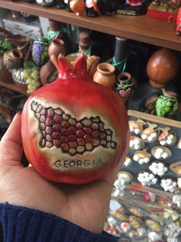 Гранат сувенир из Грузии