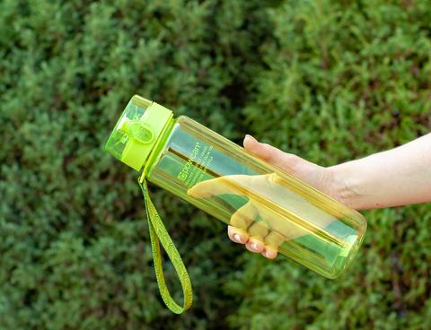 Бутылка POWCAN - 1000 мл. глянцевая - Салатовый