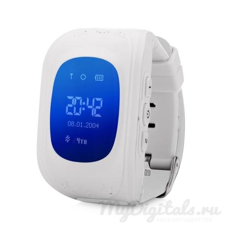 Детские часы с GPS трекером Wonlex Smart Baby Watch Q50 (Белый)