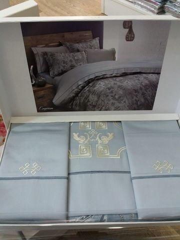 Постельное белье EMPERIUM  с вышивкой TIVOLYO HOME Турция