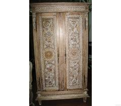 """Шкаф 2-х дверный """"Каталина (Catalan) (MK-3299-CE)"""" —  Античный бежевый"""