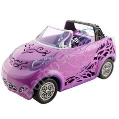 Автомобиль - Кабриолет Монстр Хай из серии Скариж - Monster High Covertible Car Scaris, Mattel