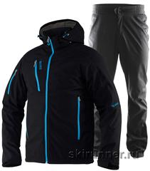 Лыжный утепленный костюм 8848 Altitude Recharger Black Craft Voyage XC мужской