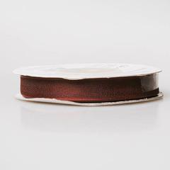Лента органза OR-15 шоколад