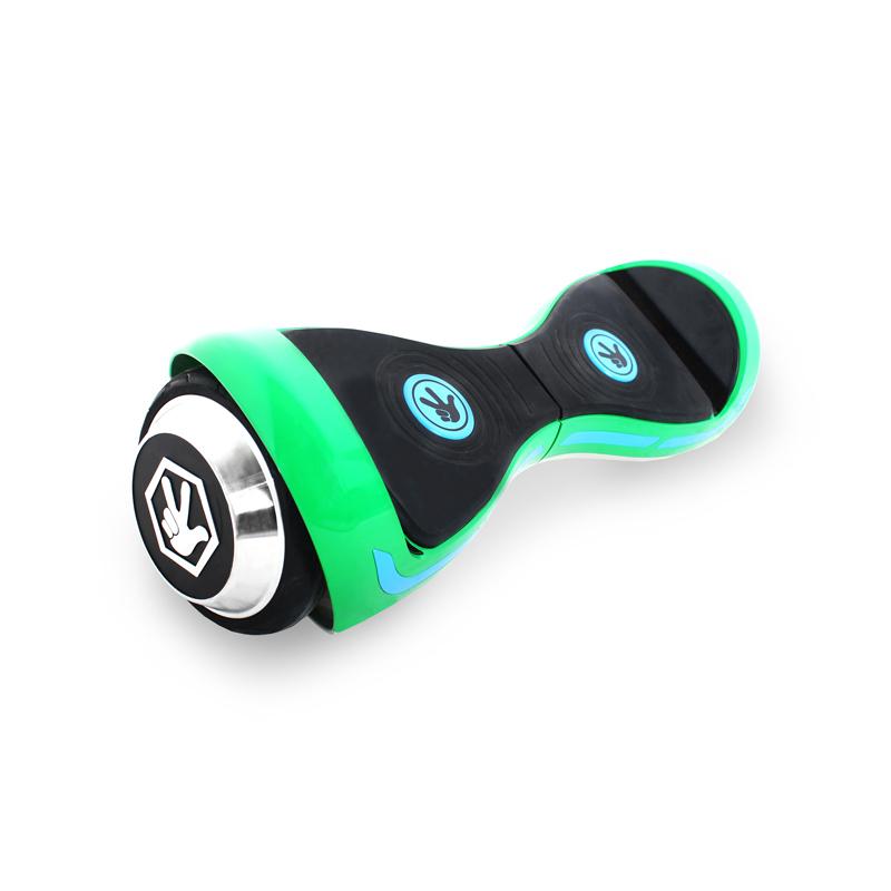 Hoverbot Фиксиборд ЗЕЛЁНЫЙ (Bluetooth-музыка + сумка + защита)