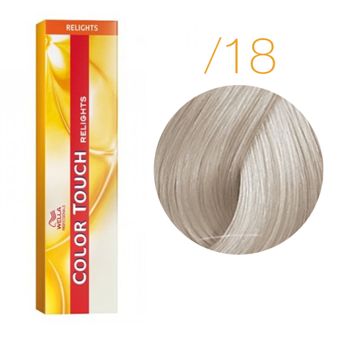 Wella Color Touch Relight Blonde /18 (Ледяной блонд) - Тонирующая краска для волос