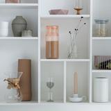 Пластиковая банка с мерным стаканом (1,3 л), Розовый, арт. 290206 - превью 9