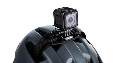 Крепление на вентилируемый шлем GoPro Vented Helmet Strap Mount на шлеме