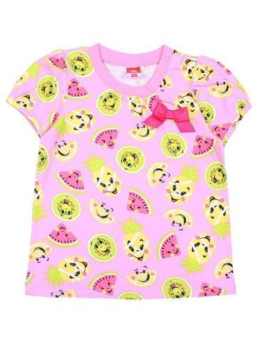Cherubino Футболка для девочки CSN61799 (171) розовый