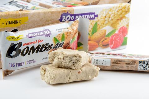 Злаковый протеиновый батончик Рисовый, 60 гр, Bombbar