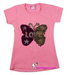 541 футболка бабочка рисунок