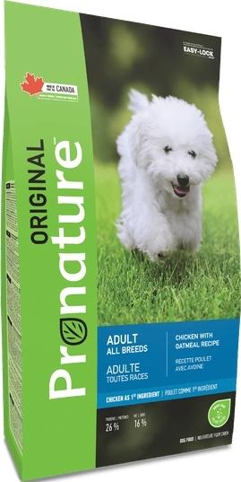 Pronature Корм для взрослых собак всех пород, Pronature Original DOG ADULT ALL BREEDS, с курицей и овсом Pronature_Original_сухой_корм_для_взрослых_собак_всех_пород.jpg