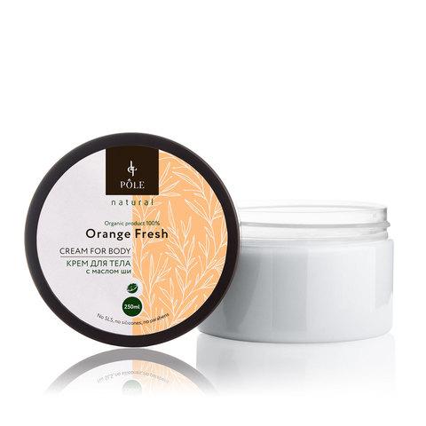 Крем для тела POLE Orange fresh (250 мл.)