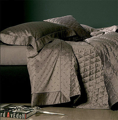 Постельное белье 2 спальное евро макси Cesare Paciotti Stiletto антрацит