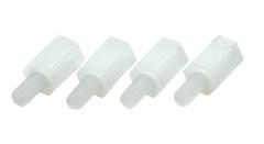 Нейлоновые стойки «мама-папа» М3×8 (4 шт.)
