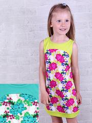287К-2 платье детское, мятное