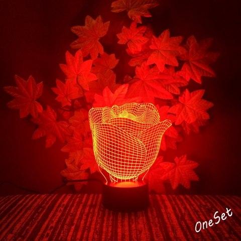Светильник Бутон розы
