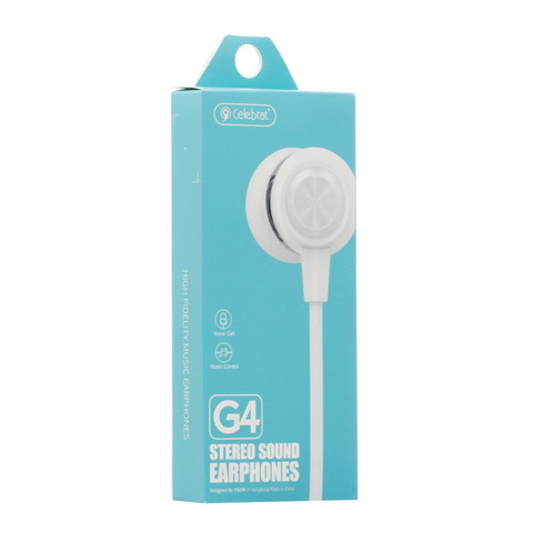 Гарнитура вакуумная Celebrat G4 металл. white