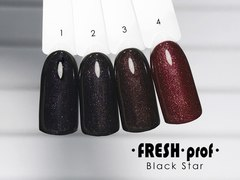 Гель лак Fresh Prof Black Star 10мл №04