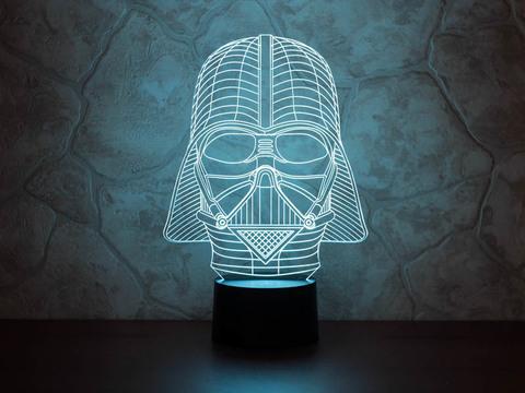 3D лампа Дарт Вейдер