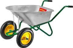 Тачка GRINDA садово-строительная двухколесная, 90 л, грузоподъемность 180 кг