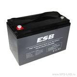 Аккумулятор ESB HTL12-110 ( 12V 110Ah / 12В 110Ач ) - фотография