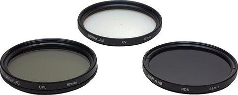 Набор фильтров RAYLAB UV/CPL/ND8 52mm