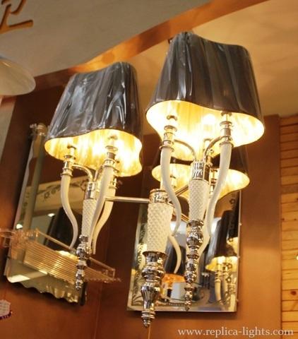 replica Esmeralda black chandelier by IPE Cavalli (Visionnaire)