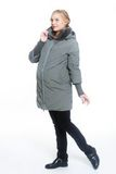 Куртка для беременных 07885 светло-серый