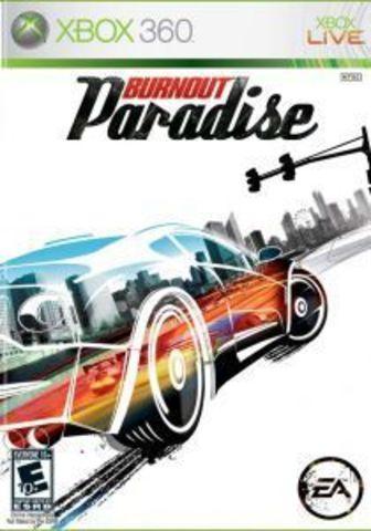 Microsoft Xbox 360 Burnout Paradise (английская версия)