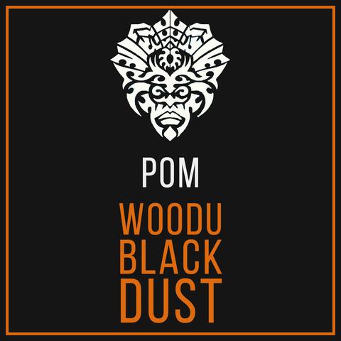 Табак Woodu MEDIUM Black Dust Ром 250 г