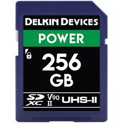 Карта памяти Delkin Devices 256GB SDXC Power UHS-II 2000x