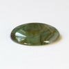 Кабошон круглый Агат зеленый, 30 мм