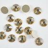 2028/2058 Стразы Сваровски холодной фиксации Crystal Golden Shadow ss12 (3,0-3,2 мм), 10 штук