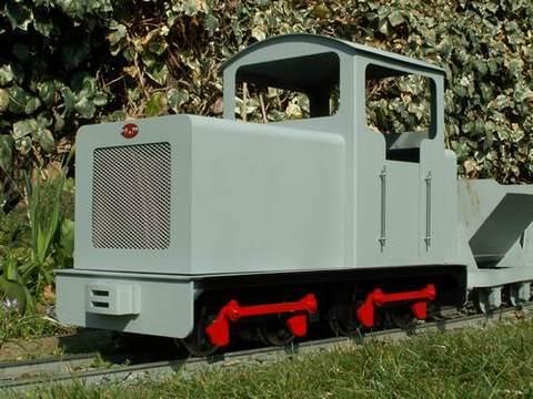 Garden Rail Локомотив HERCULES промышленный на колею 12,7 см, электрический