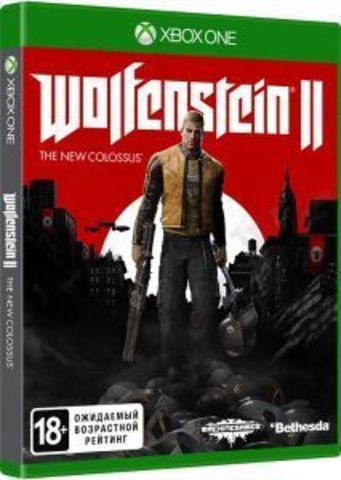 Microsoft Xbox One Wolfenstein II: The New Colossus (русская версия)