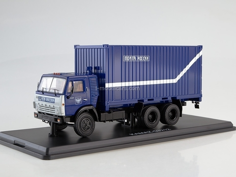 KAMAZ-53212 with 20-foot container Russian Post 1:43 Start Scale Models (SSM)