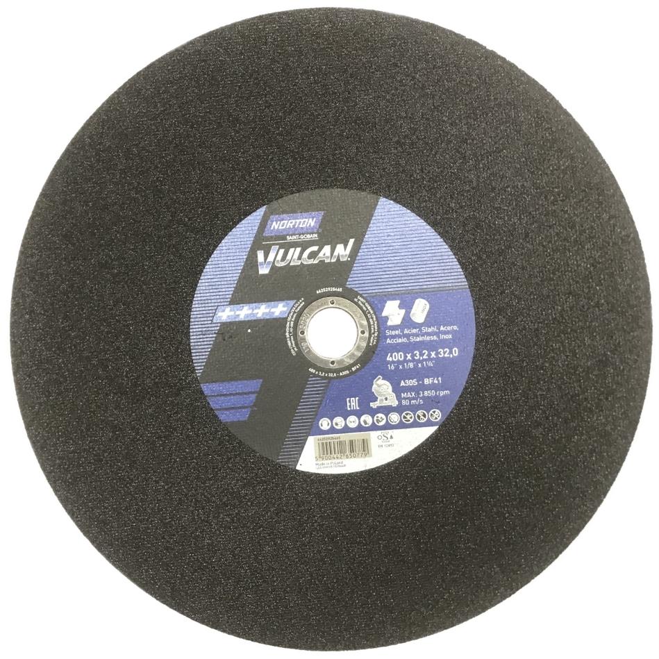 Отрезной круг нерж/сталь NORTON NORTON 400x3,2x32,0