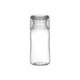 Пластиковая банка с мерным стаканом (1,3 л), Прозрачный, арт. 290220 - превью 1