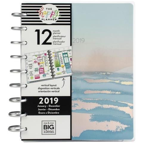 Ежедневник 2019 Classic Happy Planner®-  19,5х24,5см- Coastal