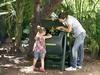 Компостер садовый KETER Compost Mixer