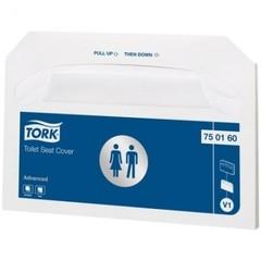 Покрытие для унитаза Tork V1 однор.250шт/уп. 750160