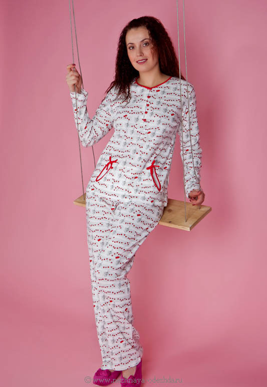 Хлопковая женская пижама Pepita