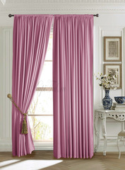 Длинные шторы. Mild (розовый).
