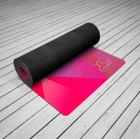 Коврик для йоги Europe 173-200*61*1-6мм из микрофибры и каучука